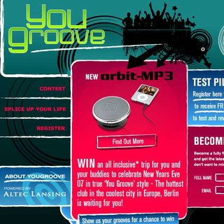 Altec Lansing launches YouGroove online club