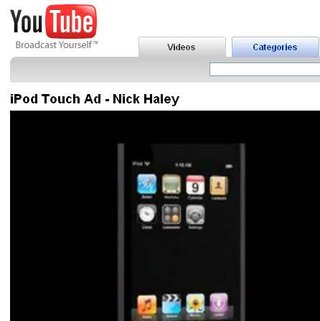 British student's iPod vid made into Apple ad