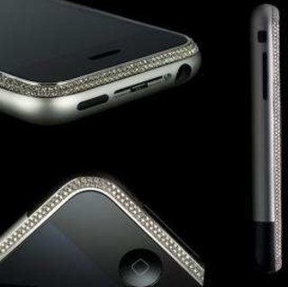 Diamond-encrusted iPhone available
