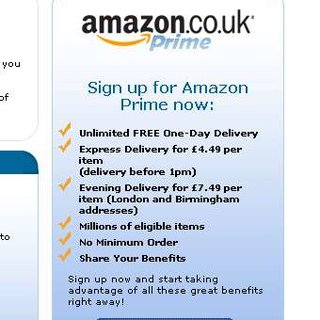 "Amazon launches ""Prime"" service in the UK"