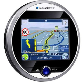 Blaupunkt offers round GPS unit