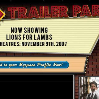 "MySpace launches ""Trailer Park"" film ad channel"