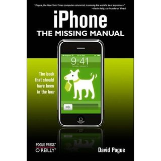 "iPhone Week: Accessory of the Day - ""The Missing Manual"""