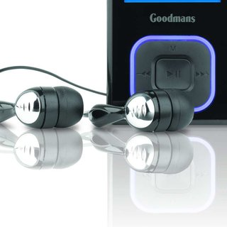 Goodmans GMP34G6 4GB MP3 player launches