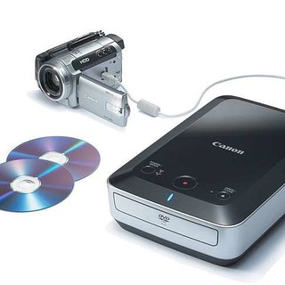 Canon launches DW-100 DVD recorder