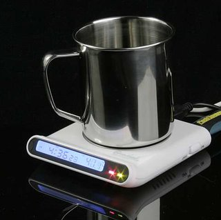 USB cup warmer, hub and clock launches