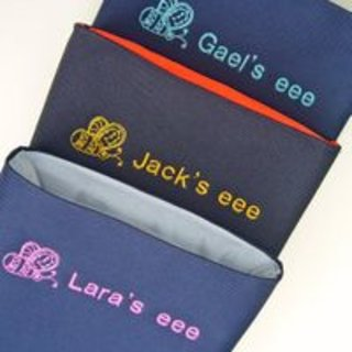 Customisable kid's Asus Eee sleeves launch