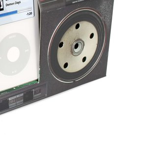Cardboard iPod Boombox speaker available