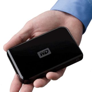 WD 320GB Passport Portable Drive on sale in the UK