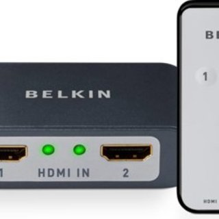 Belkin launch 2-to-1 HDMI switcher