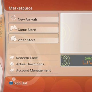Xbox 360 Marketplace Video Store goes LIVE
