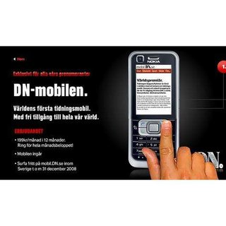 World's first newspaper-branded mobile launches