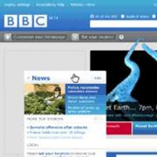 BBC homepage gets a new look