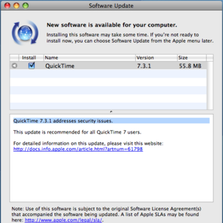 QuickTime patch fixes security flaw