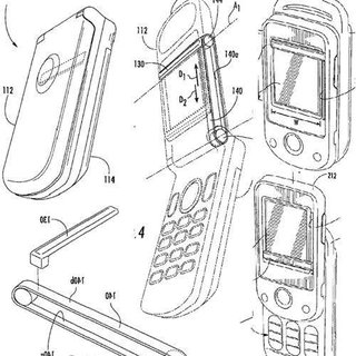 Sony Ericsson patents wipers for phone displays