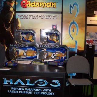 CES 2008: Replica Halo weapons get CES launch
