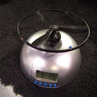 CES 2008: Flying Alarm Clock