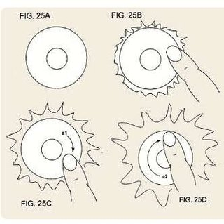 Apple patents back-lit scrollwheel touch pads