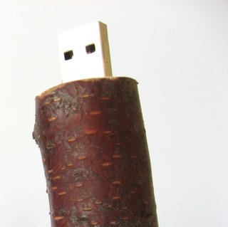 """Renewably-sourced wooden USB """"FlashSticks"""" available"""