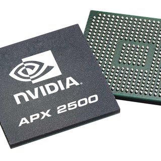 Nvidia demos APX 2500 graphics chips for mobile phones