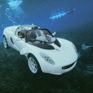 Rinspeed to show sQuba underwater car