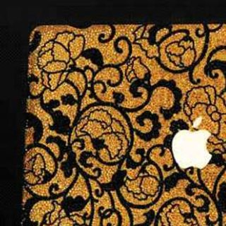 CeBIT 2008: Bling My Thing's £20k gold and crystal MacBook Air