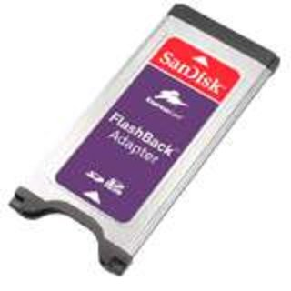 CeBIT 2008: SanDisk launches FlashBack Adapter
