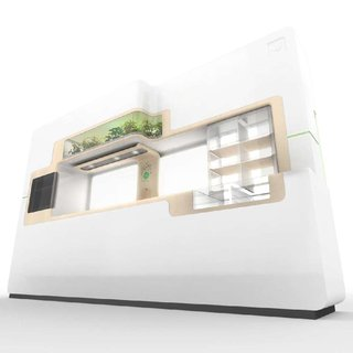 Whirlpool shows green kitchen concept