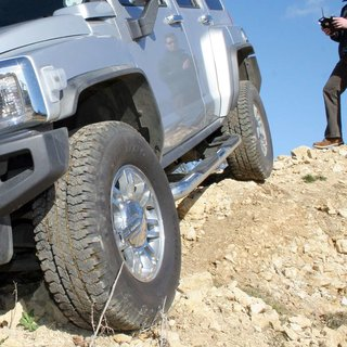 Full-size Hummer H3 converted into remote control car