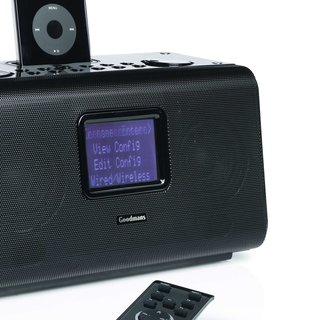 Goodmans launches internet radio alarm clock iPod dock