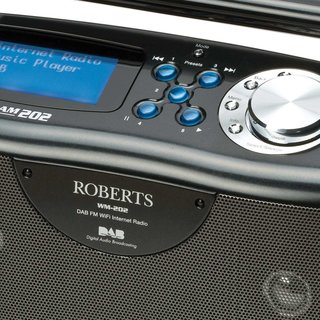 Roberts launches Stream 202 FM, DAB and internet radio