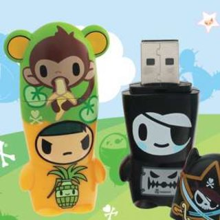 Mimobots get fashionable with tokidoki collection
