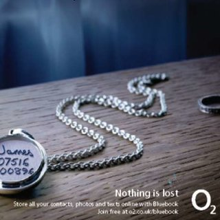 O2 threatens with lost loves to promote Bluebook service