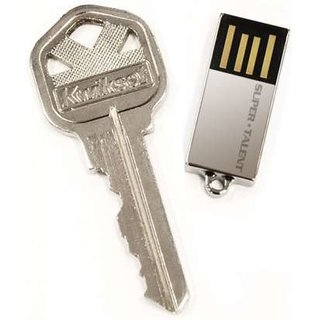 Super Talent launches world's smallest 8GB flash drive