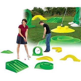 Giant crazy golf to launch from IWOOT