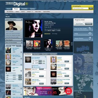 """Tesco takes on iTunes with MP3-based """"Digital"""" service"""