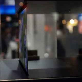 Sony shows 2mm ultra thin OLED displays