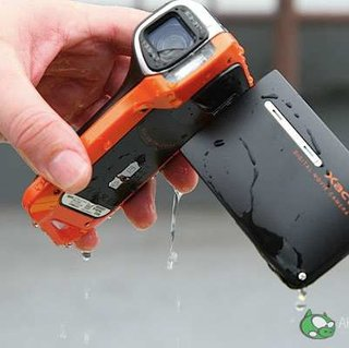 Sanyo launches waterproof camcorder