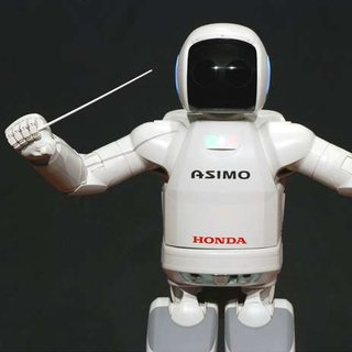 ASIMO to conduct symphony orchestra