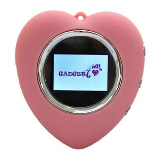 Pink, heart-shaped digital photo frame launches