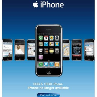 "O2 says iPhone ""no longer available"" in the UK"