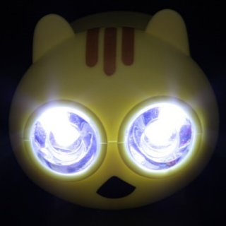 "Hand-powered ""cutie"" cat torch launches"
