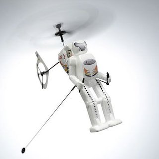 The Robo Hopper remote controlled 'copter