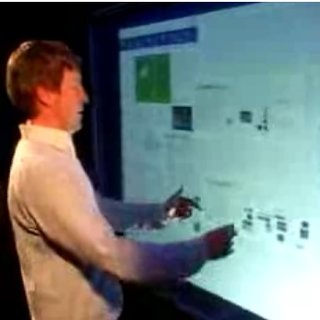 Bill Gates unveils Microsoft Touch Wall
