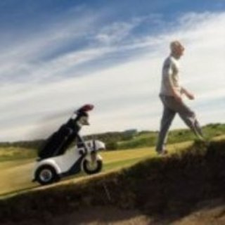 Shadow Caddy follows you round the golf course