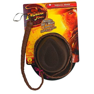 Indiana Jones whip and hat set launches