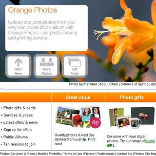 WEBSITE OF THE DAY - photos.orange.co.uk