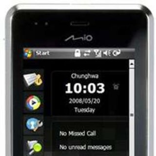 Mio shows first GPS smartphones