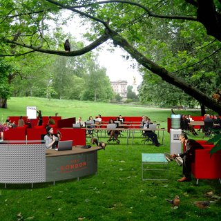 St James's Park to be transformed into outdoor office