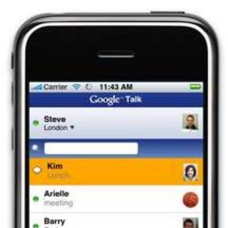 Google Talk released for iPhone and iPod touch